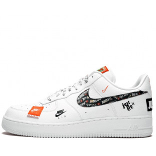 "Кроссовки Nike Air Force 1 07 Just Do It Pack ""White"""