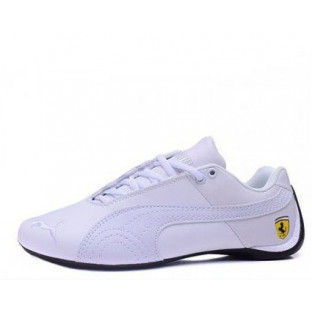 "Кроссовки Puma Ferrari Low ""All White"""