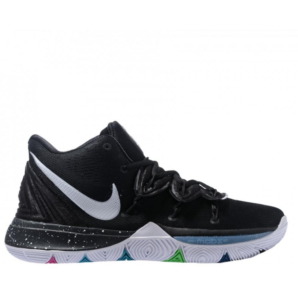 """Демисезонные кроссовки мужские   - Баскетбольные кроссовки Nike Kyrie 5 """"Black/Multi"""""""