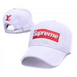 """Кепка Supreme Classic """"White"""""""