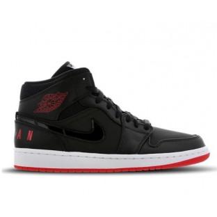 "Баскетбольные кроссовки Nike Air Jordan 1 Mid Winterized ""Black/Red"""