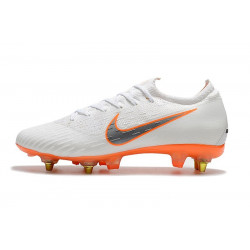 "Футбольные бутсы Nike Mercurial Superfly VI Elite SG ""White/Orange"""