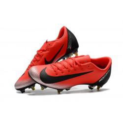 """Футбольные бутсы Nike Mercurial Vapor XII PRO SG """"Mango/Black"""""""
