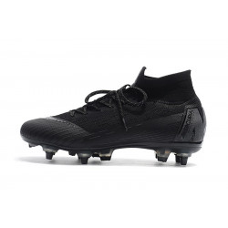 "Футбольные бутсы Nike Mercurial Superfly VI Elite SG AC ""Black"""