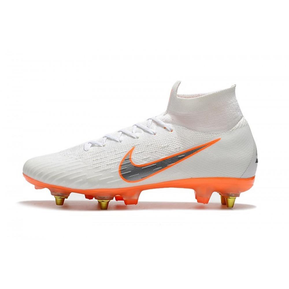 Мужские кеды футбольные - Футбольные бутсы Nike Mercurial Flyknit Superfly VI Elite SG AC