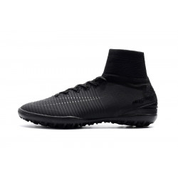 "Футзалки Nike Mercurial Superfly V TF ""Black"""