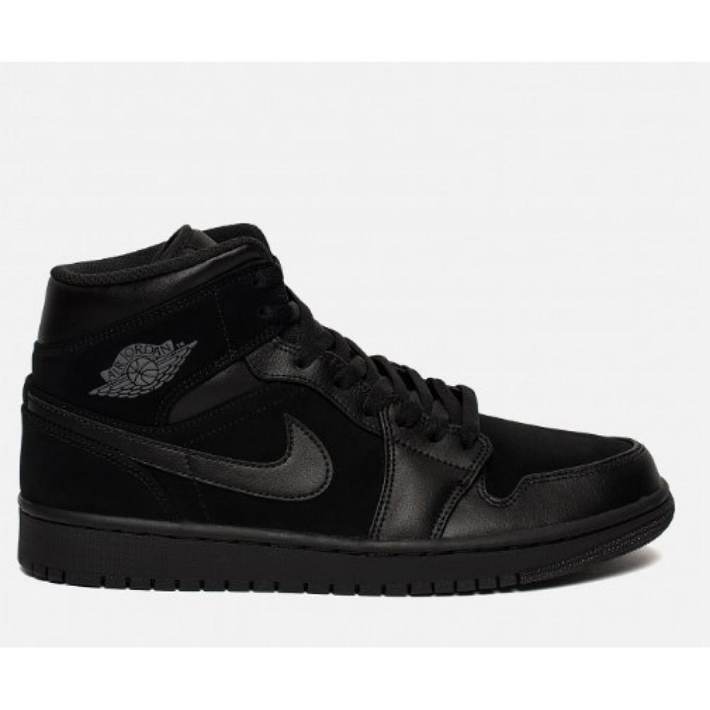 Демисезонные кроссовки мужские   - Баскетбольные кроссовки Nike Air Jordan 1 Mid